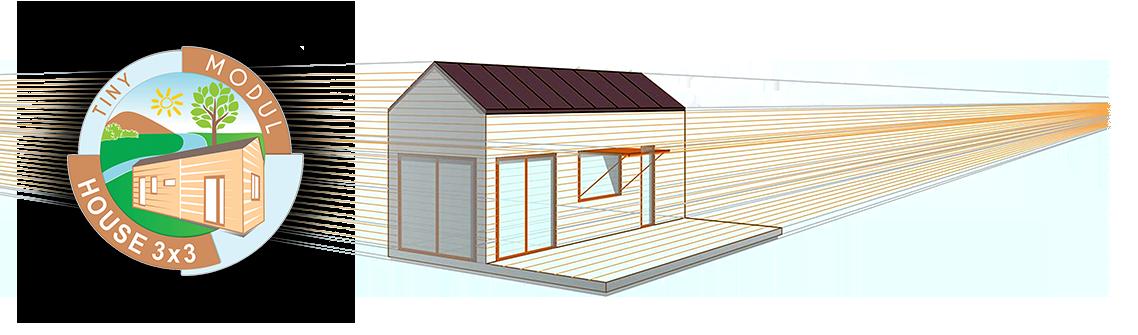 Tiny Modul House Logo